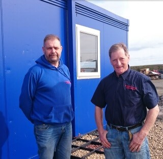 Eddie and Bill - D Renton & Sons Alnwick